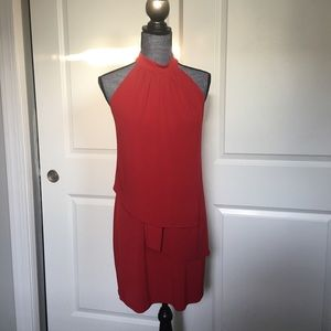 Laundry by Design Women's dress color dark red Sz4